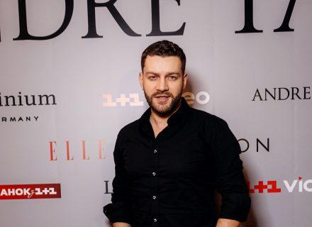 Богдан Юсипчук на презентації фільму ANDRE TAN