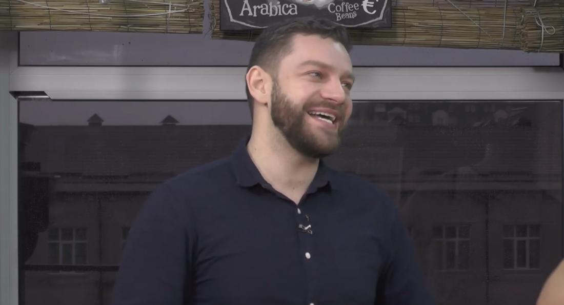Богдан Юсипчук у програмі «Пізній сніданок» на Bambarbia TV