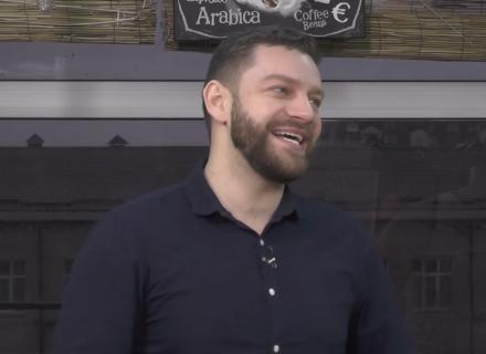 Богдан Юсипчук у шоу «Пізній сніданок» на Bambarbia TV