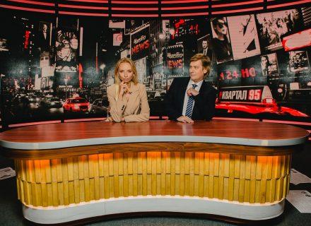 Ведучими нового сезону «Чисто News» на «1+1» стали Ірина Сопонару та Степан Казанін
