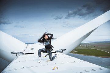 Руслана зняла кліп на висоті 120 метрів