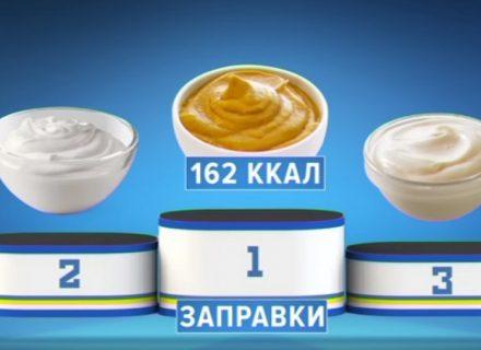 «Полезная программа»: рейтинг лучших заправок для блюд