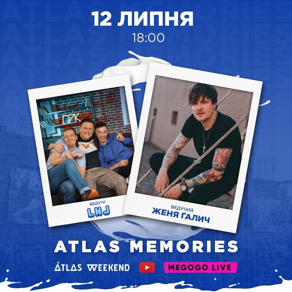 MEGOGO LIVE та Atlas Memories