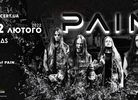 PAIN выдали клип на трек Party In My Head и едут в Украину