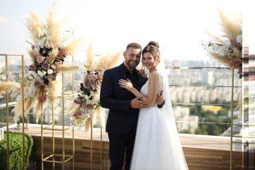 Богдан Юсипчук и Юля Зайка: свадебные фото