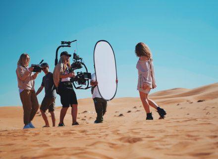 Alyosha & Vlad Darwin відзняли кліп «Торнадо» в Арабських Еміратах: перші фото зі знімального майданчика
