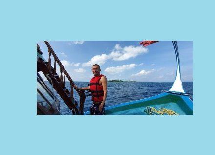 Gena VITER 36 часов медитировал в Индийском океане