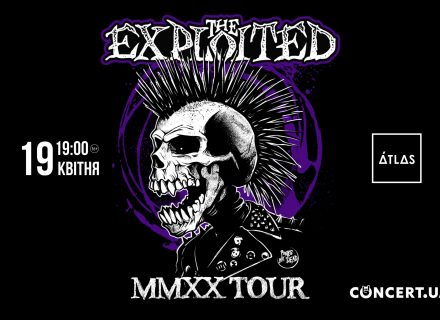 Легенди панку The Exploited дадуть концерт у Києві