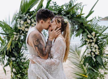 Це сталося: MamaRika та Сергій Середа одружилися