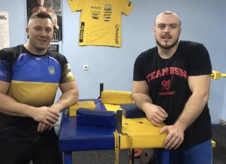 Маріус Байка та Денис Гур'єв: тренування у СК «Атлант»