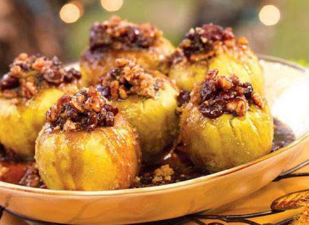 Диетический десерт из яблок от Юлии Панковой