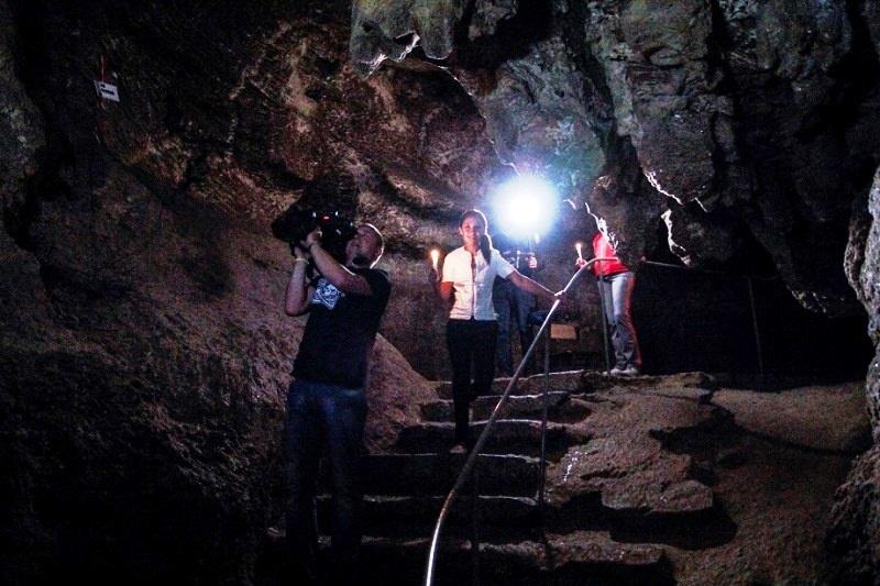 Україна вражає_пещера Хрустальная