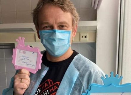 Фоззи из ТНМК стал отцом: первое фото из роддома