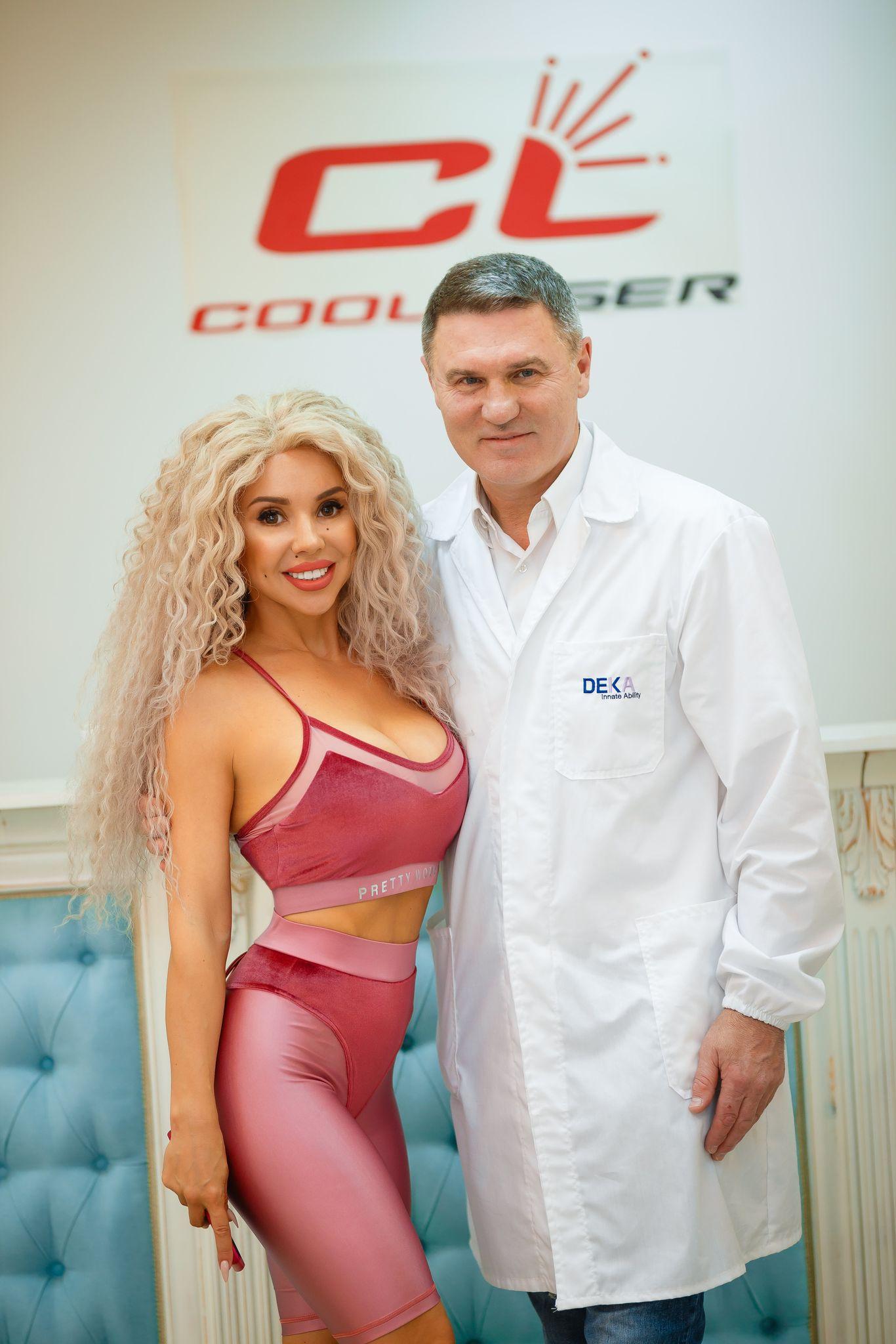 певица СолоХа и  Алексей Борсало