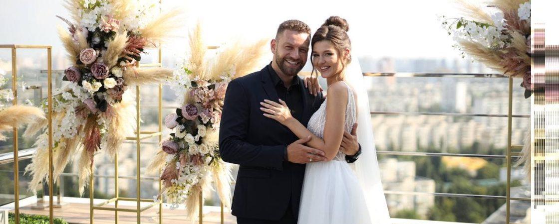 Богдан Юсипчук и Юля Зайка: свадебная церемония завидного холостяка и холостячки
