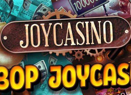 Онлайн казино Джойказино – коллекция слотов и поощрений